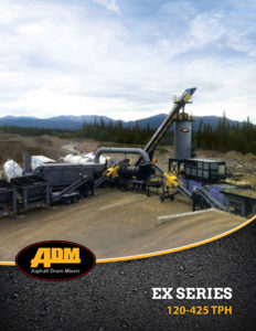 EX Series Asphalt Plant Sell Sheet