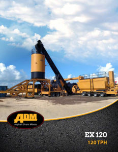 ADM Asphalt Plant EX120 Brochure