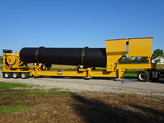 New 2016 RB 250 Asphalt Plant Drum Mixer