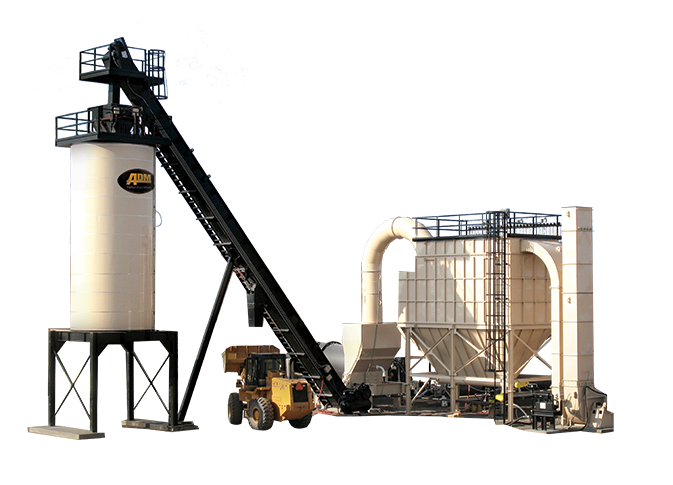 RoadBuilder Mobile Asphalt Mixing Plant