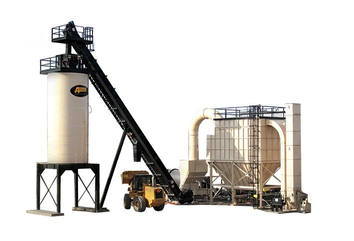 RoadBuilder Portable Asphalt Mixing Plant
