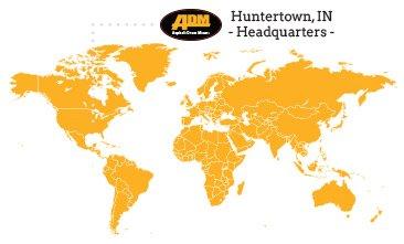 Asphalt Plant Manufacturer Territory Map