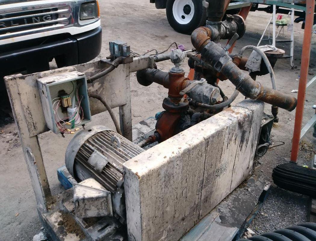 Asphalt Cement Skid Mounted Pump