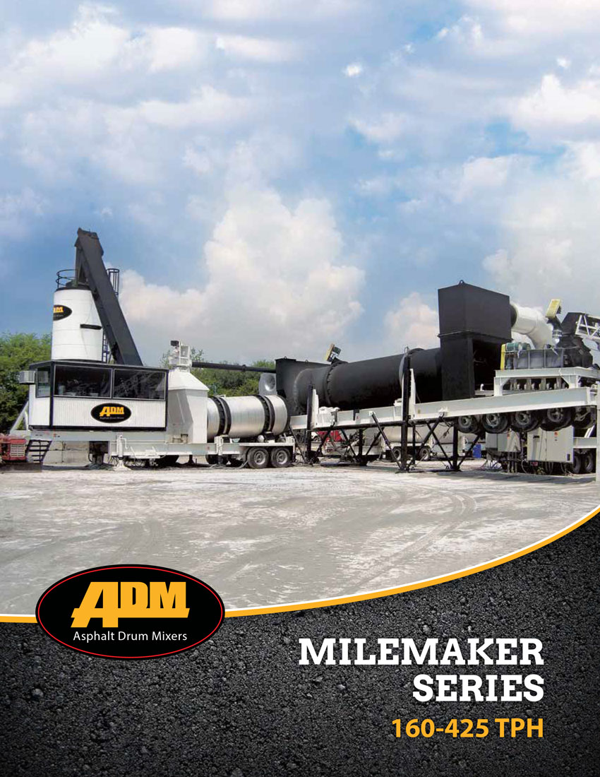 ADM Asphalt Plant MileMaker Series Brochure