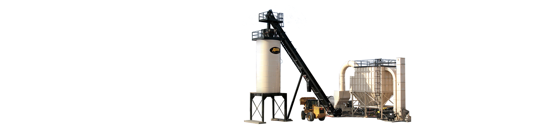 ADM RoadBuilder Portable Asphalt Mixing Plant
