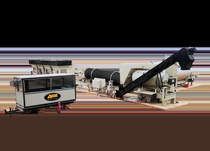 SPL SERIES Asphalt Mixing Drum Plant– 60-160 TPH