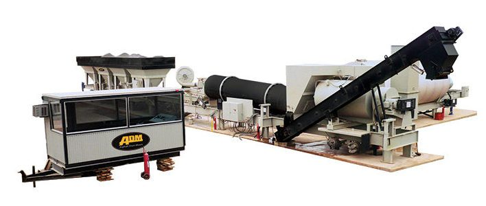 SPL SERIES Asphalt Mixing Plant – 60-160 TPH